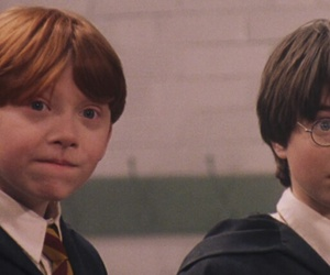 harry potter, ron weasley, and header image