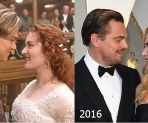 oscar, kate winslet, and titanic image