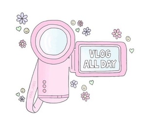 pink, tumblr, and video image