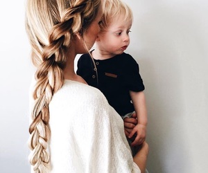 baby, hair, and beautiful image