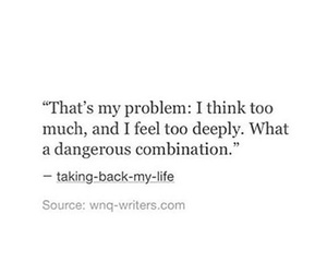 deep, life, and problem image