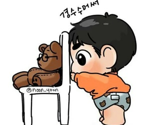 baby, chair, and chibi image