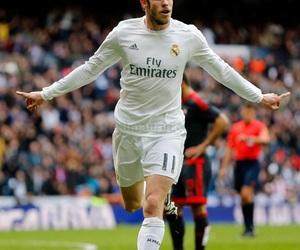 real madrid, welcome back, and gareth bale image