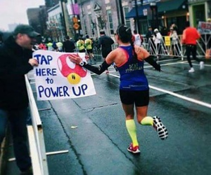 Marathon, power, and run image