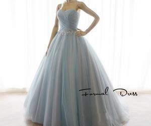 blue dresses, dresses, and evening dress image