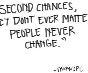 chances, change, and feeling image