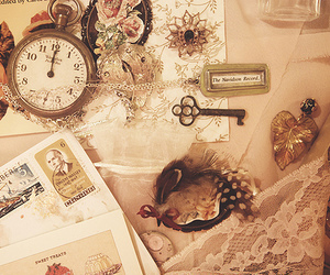 classic, clock, and hipster image
