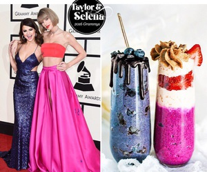 selena gomez, Taylor Swift, and grammy image