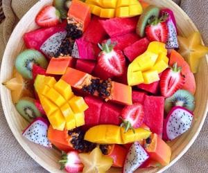 FRUiTS, kiwi, and strawberry image