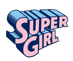pink, super girl, and overlay image
