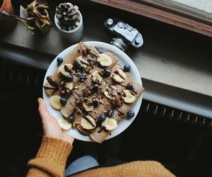 banana, love, and food image