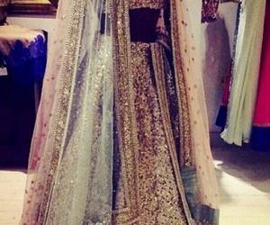 girl, indian, and wedding image