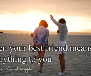 Best, best friend, and friendship image