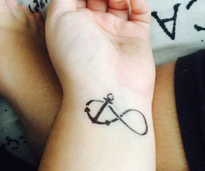 anchor, broken, and infinity image