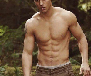shirtless, Taylor Lautner, and twilight image