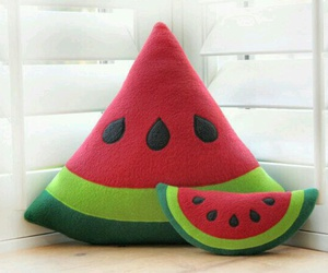 watermelon and pillow image