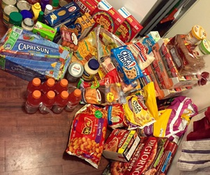 food, snacks, and junk food image
