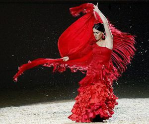 colors, dance, and flamenco image