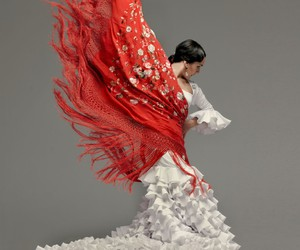 flamenco, beauty, and gypsy image