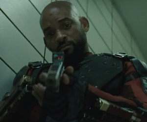 will smith, deadshot, and suicide squad image