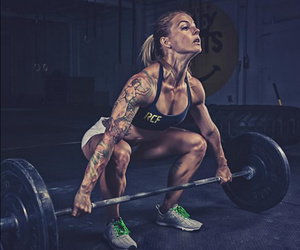 fitness, lifting, and barbell image