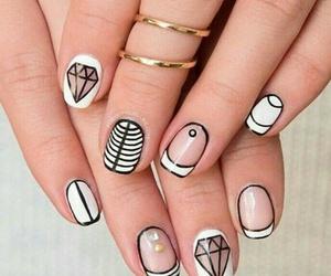 beautiful, color, and nail image