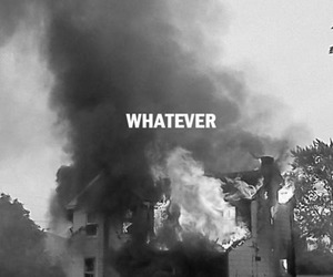 whatever, text, and b&w image