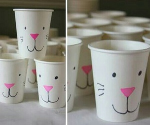 cup, diy, and easter image