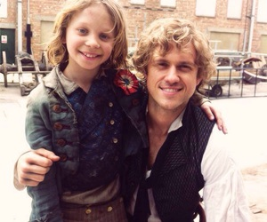 les miserables, enjolras, and gavroche image