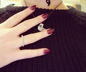 fashion, girls, and nail image