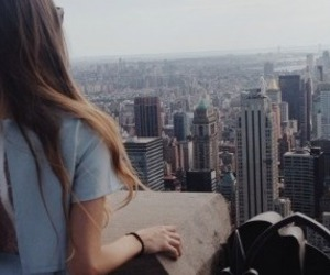 backless, brunette, and city image