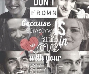 teen wolf, smile, and scott mccall image