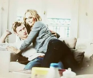 candice accola, joseph morgan, and klaroline image
