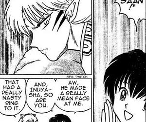 manga, inuyasha, and sesshomaru image