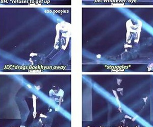 concert, exo, and funny image