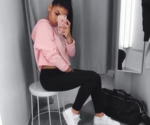 fashion, outfit, and iphone image