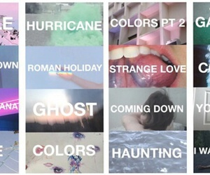 colors, ghost, and halsey image