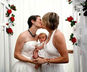 baby, gay, and family image