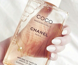 chanel, perfume, and nails image