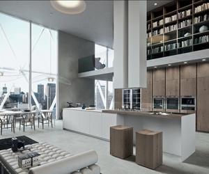 interior design, luxury, and loft image