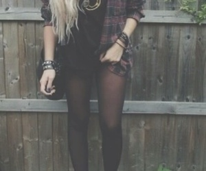 nirvana, grunge, and outfit image
