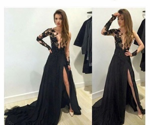 black, dress, and perfect image