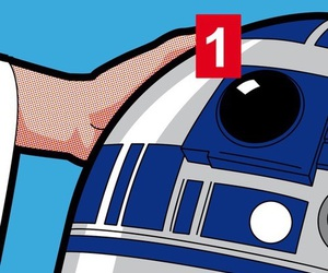r2d2 and star wars image