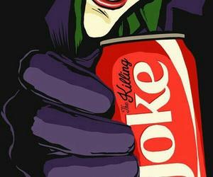 joker, coke, and batman image