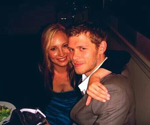 joseph morgan, candice accola, and klaus image