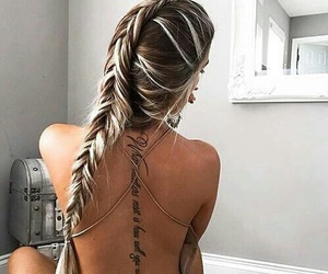 grunge, hair, and hairstyle image