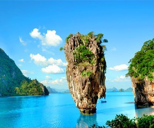 beach, places, and thailand image