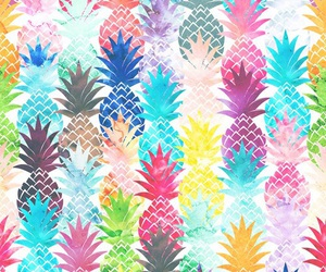 pineapples and wallpaper image