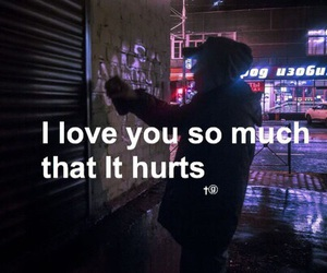 love, hurt, and quotes image