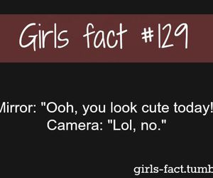 quote and girls fact image